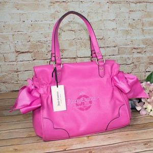Juicy Couture Pink Bow Satchel